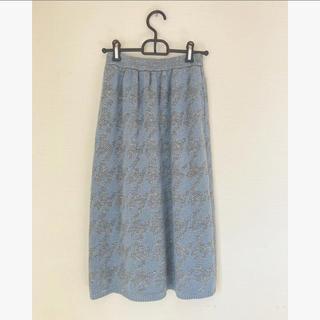 ロキエ(Lochie)のknit skirts (ひざ丈スカート)