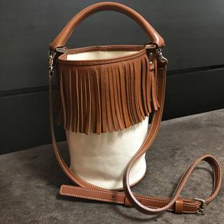 ドゥロワー(Drawer)のfringe bucket bag フリンジバケットバッグ ayako(ショルダーバッグ)
