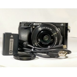 SONY - SONY α6000 パワーズームレンズキット ilce-6000L