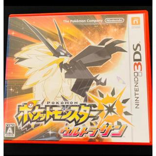 ニンテンドー3DS(ニンテンドー3DS)のポケットモンスター ウルトラサン 3DS ポケモン ニンテンドーDSソフト(携帯用ゲームソフト)