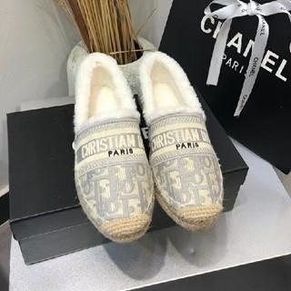 Dior - DIOR パンプス ファー