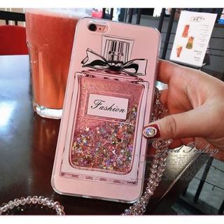 ★きらきらキレイ★ スマホケース 香水 瓶 ラメ iPhone11 他機種有(iPhoneケース)