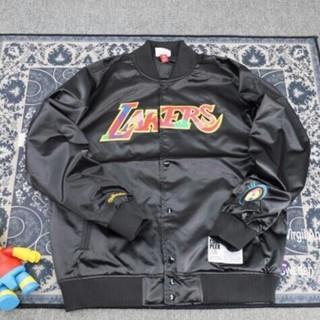 ミッチェルアンドネス(MITCHELL & NESS)のMitchell & Ness x Lakersx村上隆satinjacket(ブルゾン)
