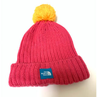 THE NORTH FACE - ノースフェイス ニット帽 帽子 ポンポン ピンク アウトドア パタゴニア