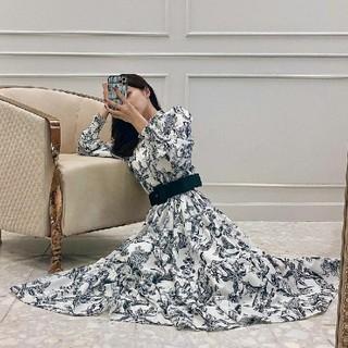 eimy istoire - eimy istoire  Camila flower ティアードワンピース