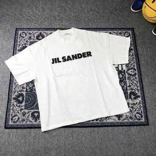 Jil Sander - JIL SANDER オーバーサイズ L ロゴ Tシャツ 未使用