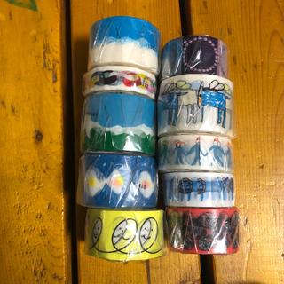 ミナペルホネン(mina perhonen)のゆかりんごさま専用。ミナペルホネン  マスキングテープ 10本 新品未開封(テープ/マスキングテープ)