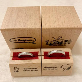 4℃ - bijoupiko ビジュピコ スヌーピー コラボ ペアリング 指輪 結婚指輪