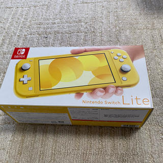 Nintendo Switch - 【美品】NINTENDO SWITCH LITE イエロー