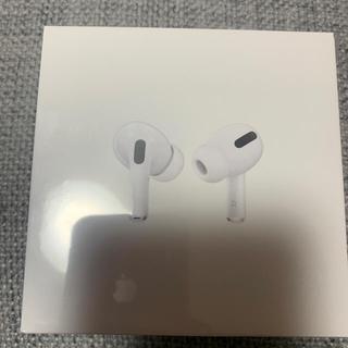 アップル(Apple)の新品未開封!保証未開始!Airpods pro  MWP22J/A Apple(ヘッドフォン/イヤフォン)