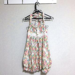 リズリサ(LIZ LISA)の値下げ中【新品】LIZ LISA トップス チュニック 可愛い 花柄 夏服(チュニック)