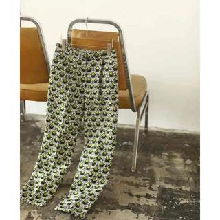 トゥデイフル(TODAYFUL)のnaruさん専用  Jacquard Slit Trousers 38(カジュアルパンツ)