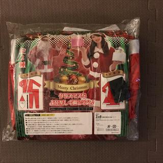 サンタコスチューム 女性用 Mサイズ(衣装一式)