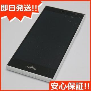 フジツウ(富士通)の中古 SIMフリー arrows M02 ホワイト (スマートフォン本体)