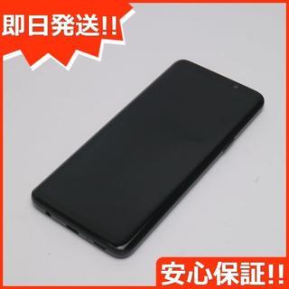 サムスン(SAMSUNG)の超美品 SC-02K ブラック 本体 白ロム (スマートフォン本体)