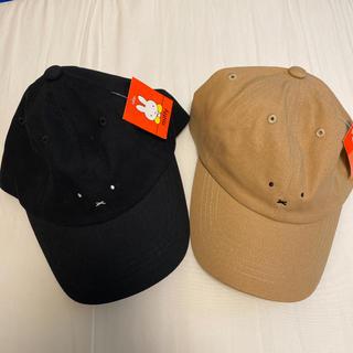しまむら - 新品 ミッフィー キャップ 帽子 しまむら 2個セット
