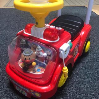 アンパンマン - アンパンマン  じゃかじゃか消防車 手押し車 おもちゃ