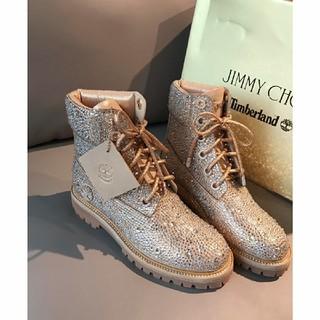 ジミーチュウ(JIMMY CHOO)のジミーチュウ ハイカット スニーカー ブーツ(スニーカー)