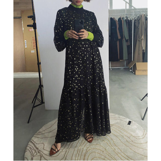 Ameri VINTAGE - アメリヴィンテージ AIRY HIGH NECKED DRESS