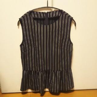 アナイ(ANAYI)のANAYI  ストライプトップス38サイズ美品(シャツ/ブラウス(半袖/袖なし))