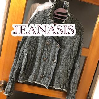 ジーナシス(JEANASIS)のジーナシス✨ウール混 ジャケット コート 上着 ニコアンド sm2 vis系(その他)
