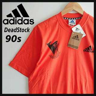 adidas - 1099【90年代製/デッドストック/貴重】アディダス 1999年製 Tシャツ