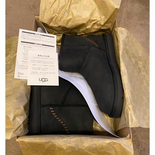 アグ(UGG)のアグ クラシックミニ デコ ブラック 未使用品 27cm(ブーツ)