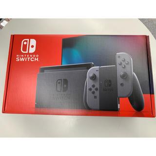 Nintendo Switch - Nintendo Switch グレー 新バージョン 未使用 スイッチ 任天堂