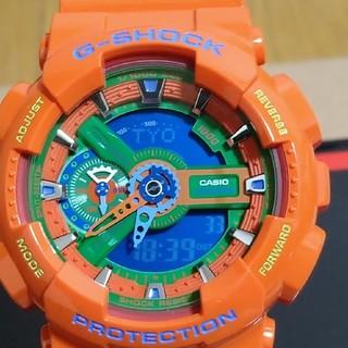 ジーショック(G-SHOCK)のCASIO G-SHOCK GA-110A-4DR  海外モデル(腕時計(デジタル))