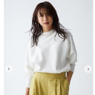 Mila Owen - 完売❤️新品タグ付 milaowen トレーナー風ハイネックニット