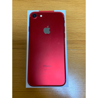 Apple - 美品 iPhone7 128GB SIMフリー PRODUCT RED