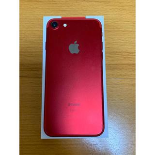 Apple - 美品 iPhone7 128GB SIMフリー PRODUCT RED
