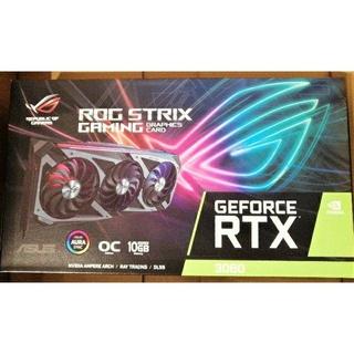 エイスース(ASUS)の新品送料込 ASUS ROG-STRIX-RTX3080-O10G-GAMING(PCパーツ)