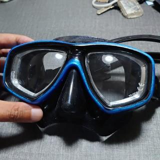 ツサ(TUSA)のTUSA FreedomCeos ダイビングマスク 最終値下げ (マリン/スイミング)