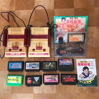 ファミリーコンピュータ(ファミリーコンピュータ)のファミコン ゲーム 任天堂 ニンテンドー 当時物 昭和レトロ インテリア雑貨(家庭用ゲーム機本体)