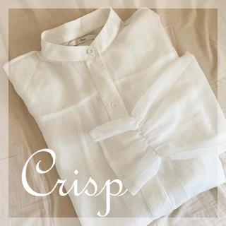 クリスプ(Crisp)のCrisp シアーシャツ(シャツ/ブラウス(長袖/七分))