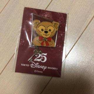 ダッフィー - 25周年★ダッフィー★ピンバッジ★ディズニー★非売品★限定