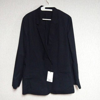 UNIQLO - 黒テーラードジャケット