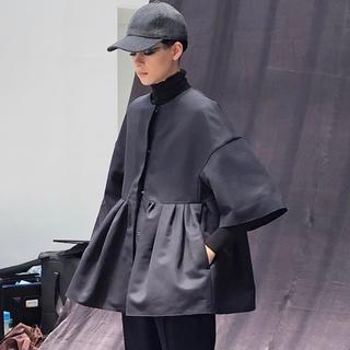 Drawer - 新品未使用 ドゥロワー  コート ノーカラー ジャケット