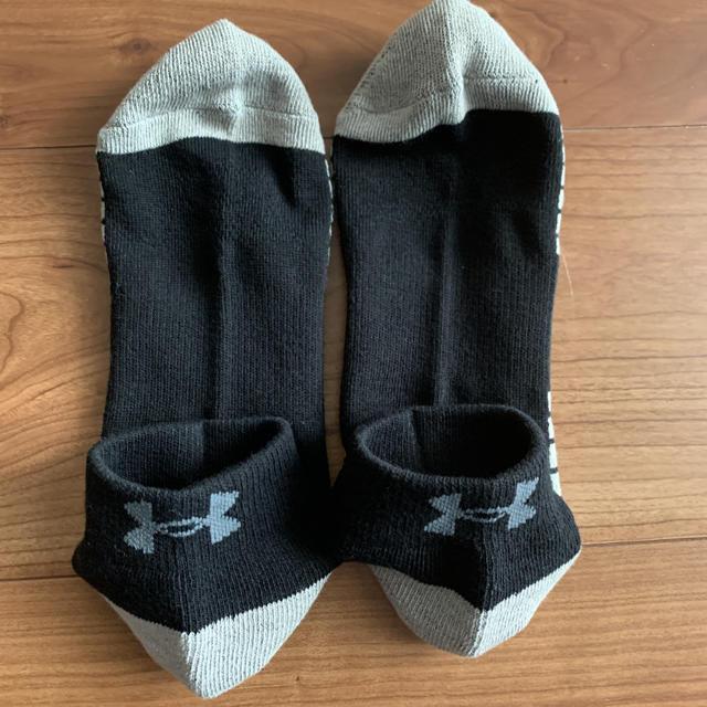 UNDER ARMOUR(アンダーアーマー)の新品タグ付き3足分セットアンダーアーマーLG靴下ソックス27ー29cm メンズのレッグウェア(ソックス)の商品写真