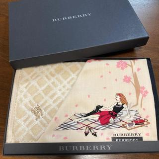 BURBERRY - バーバリー ハンカチ タオルハンカチ 女の子 新品 未使用