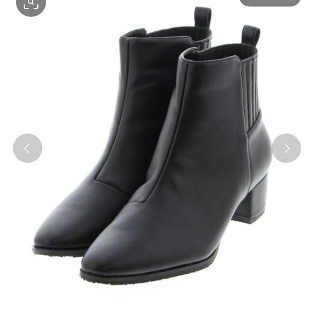 JELLY BEANS(ジェリービーンズ)のバックゴアショートブーツ レディースの靴/シューズ(ブーツ)の商品写真