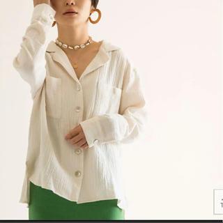 SeaRoomlynn - Searoomlynn shellデイリールーズシャツ