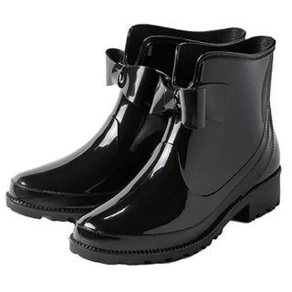 ★送料無料★ アウトレット商品 レインブーツ 黒 23cm 他カラーサイズ有(レインブーツ/長靴)