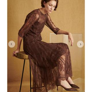 FRAY I.D - 大人気カラー◉ レースロングドレス