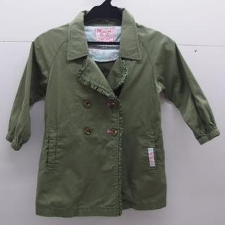 ミニケー(MINI-K)の*1290・Mini-k Girls 女の子 ライトアウター カーキ 100cm(ジャケット/上着)