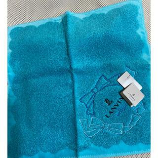 ランバンオンブルー(LANVIN en Bleu)の新品LANVINタオルハンカチ(ハンカチ)
