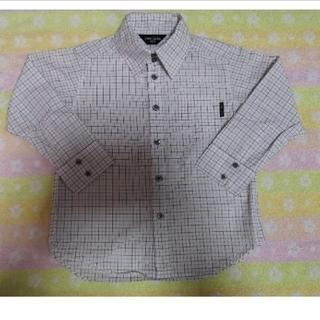 コムサイズム(COMME CA ISM)の【美品】COMME CA ISM 子ども キッズ 100 ブラウス Yシャツ(ドレス/フォーマル)