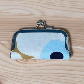マリメッコ(marimekko)の印鑑ケース がま口 小サイズ ウニッコ はぎれ ハンドメイド(雑貨)