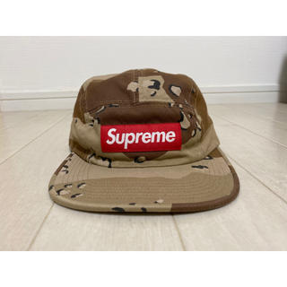 Supreme - Supreme washed camp cap camo